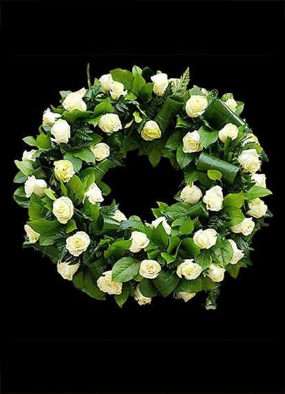 A07 - Trandafiri Albi - Aranjament F24
